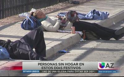 Ayudarán a personas sin hogar en las fiestas