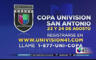 ¡Ya se acerca la Copa Univision San Antonio!