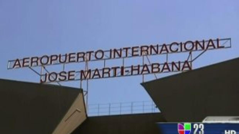 Aeropuerto Internacional José Martí en Cuba