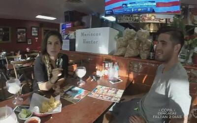Ana Caty se fue a comer tacos de mariscos con Ventura Alvarado y Michael...