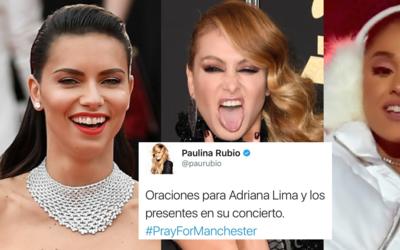 Adriana Lima, Paulina Rubio, Ariana Grande