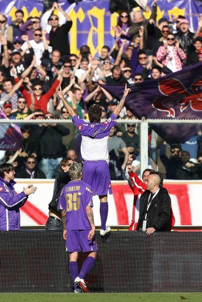 El rumano marcó un doblete y Alberto Gilardino puso el 3-0 defini...