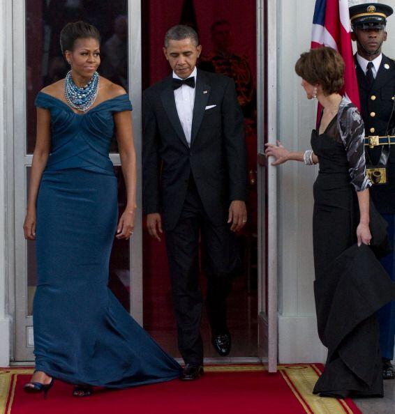 Como lo dijimos antes, Michelle Obama tiene un espectacular cuerpo que l...