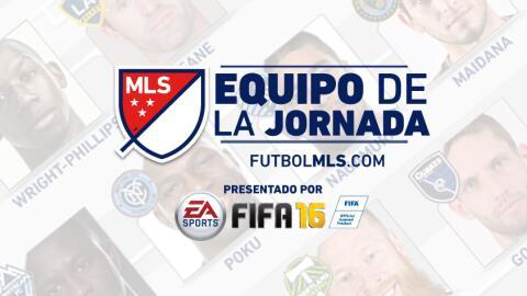 Equipo de la Jornada MLS presentado por EA SPORTS FIFA 16
