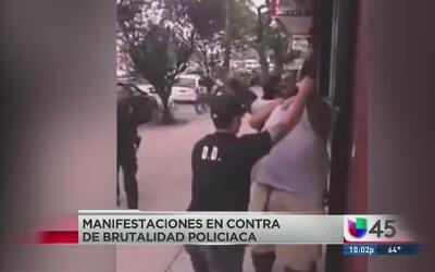 Houston protesta contra brutalidad policiaca