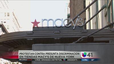 ¿Discrimen racial en Macy's?