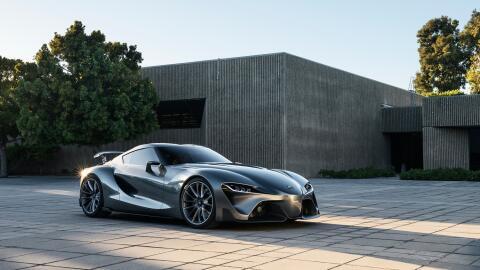 Así luce el prototipo en el cual se inspirará el nuevo Supra.
