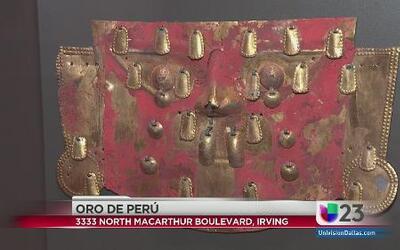 Exposición peruana en Irving
