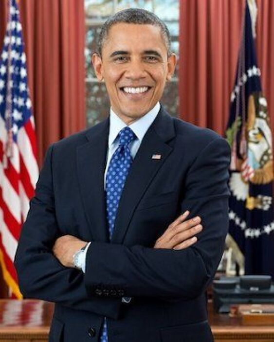 Todo listo, todo dispuesto. El reelecto presidente de Estados Unidos, Ba...