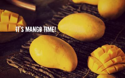 Mangos tipo manila, una fruta accesible en el verano.