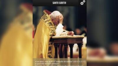 Lanzan la aplicación oficial de la canonización de Juan Pablo II en cast...