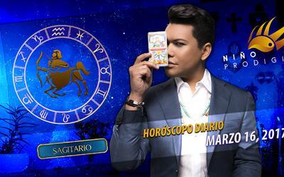 Niño Prodigio - Sagitario 16 de marzo, 2017