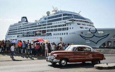 Daily Brief: U.S. Cruise Ship Arrives in Cuba
