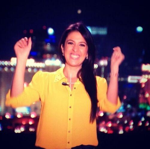 Maity arrancó con una gran sonrisa la cobertura de Despierta rumbo al La...