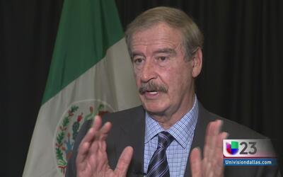 ''Trump cosechará tempestades'': Vicente Fox