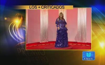 Los peores vestidos de Premio lo Nuestro según los expertos en Despierta...