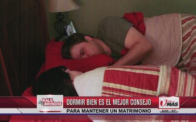 Dormir bien ayuda a tener un matrimonio exitoso