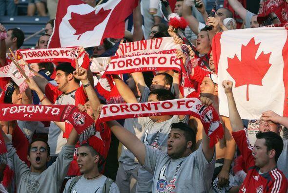 Toronto FC fue el primer equipo de la MLS en Canadá en 2007. Gran...