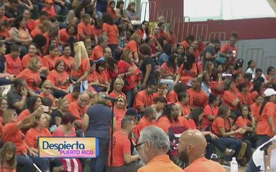 Empleados exentos no docentes se reúnen para reafirmar su apoyo a los es...