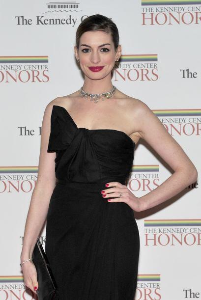 Anne Hathaway: Esta actriz aún es muy joven, pero busca consolidarse com...