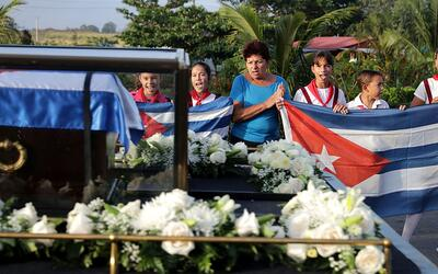 fidel funeral