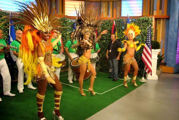 La música y el baile no podían faltar en Despierta América.
