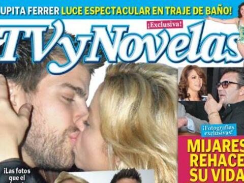 Semanas antes, el beso tan anhelado por los paparazzis se lo llevó la re...
