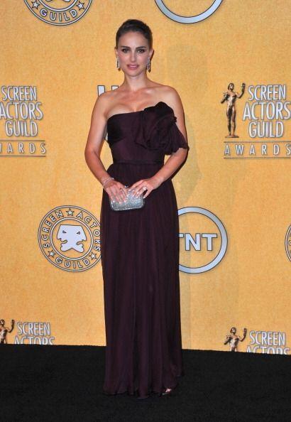 Natalie Portman volvió a ser de las mejores en los SAG de 2012 co...