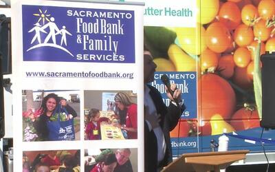 Banco de alimentos de Sacramento lleva su ayuda a varios vecindarios