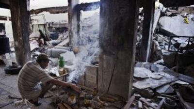 Israel y Hamás intercambiaron ataques durante la noche pero esta mañana...