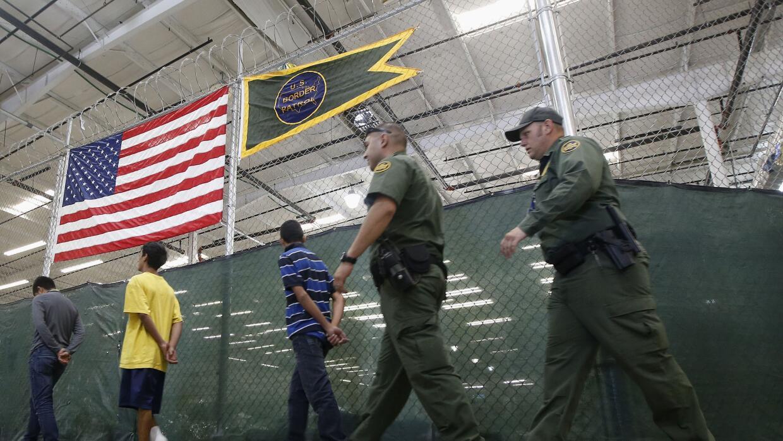 Harry Reid: Fair Day in Court for Asylum-Seeking Kids GettyImages-Detain...