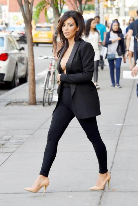 Pero esta vez Kim no estaba acompañada de su esposo.Más videos de Chisme...