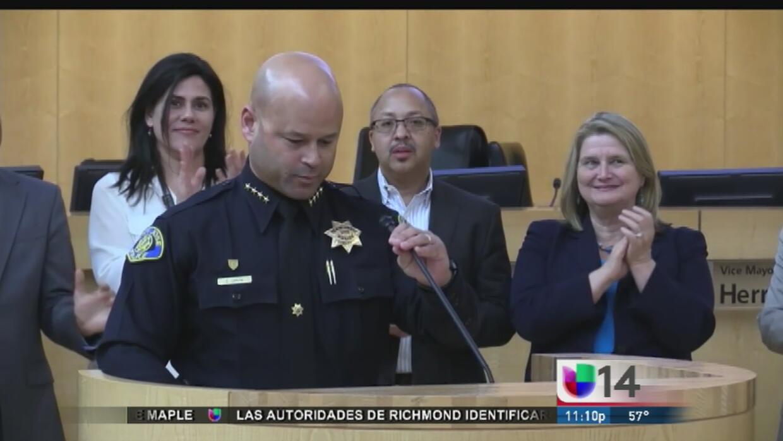 Eddie García, el nuevo jefe de la Policía de San José