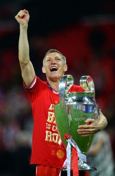 Schweingsteiger un histórico del Bayern, por fin tiene la Champions.