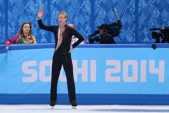 Rusia tuvo una baja sensible pues uno de los favoritos al oro, Evgeni Pl...