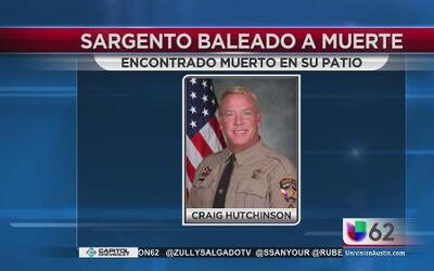 Oficial del condado Travis es asesinado
