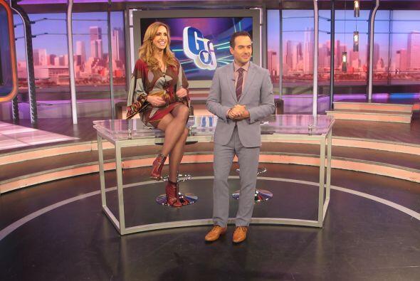 Así como la ven, la Flaca planeaba poner a Carlos en sus zapatos.