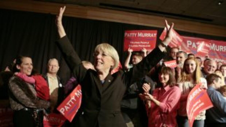 Patty Murray aún no sabe si fue reelecta al Senado por el estado de Wash...