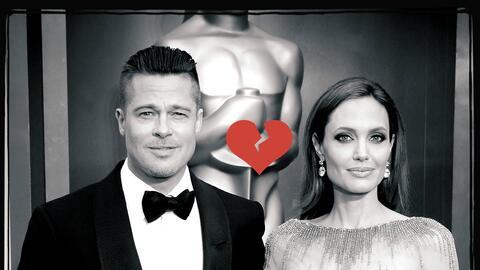 """La demanda de divorcio ha sido entablada por Angelina Jolie, citando """"di..."""