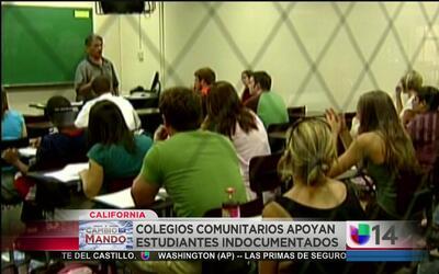 Reiteran apoyo a estudiantes indocumentados
