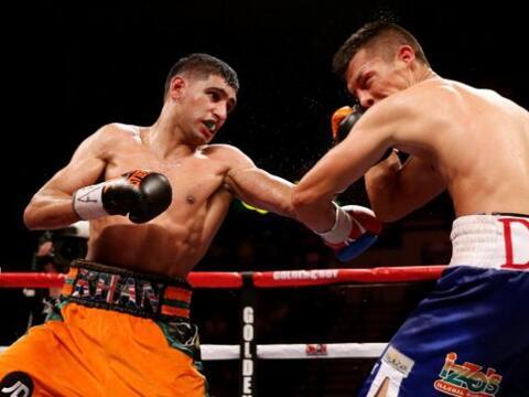 .Amir Khan derrotó a Julio Díaz por decisión unánime, sin embargo, dejó...