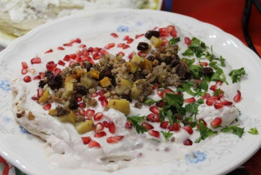 Las enchiladas en nogada son tan buenas que más de 30 restauranteros pre...