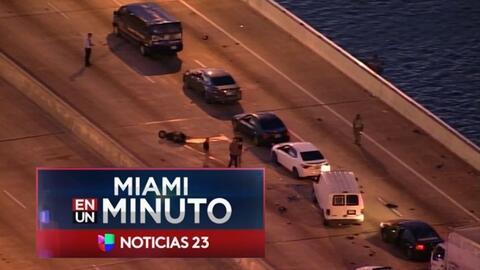 'Miami en un Minuto': tres personas murieron en un accidente de tráfico...