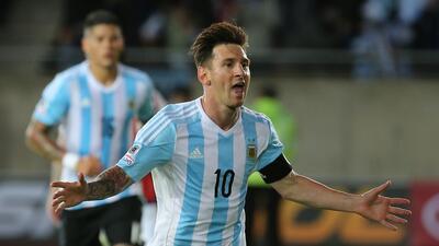 Leo llegará a 100 partidos con la selección argentina ante Jamaica.