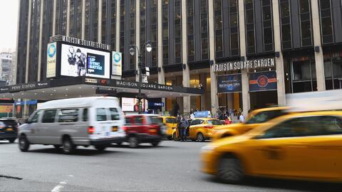 'Nueva York en un Minuto': refuerzan seguridad del Madison Square Garden...