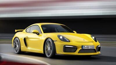 El GT4 es al Cayman lo que el GT3 al 911.