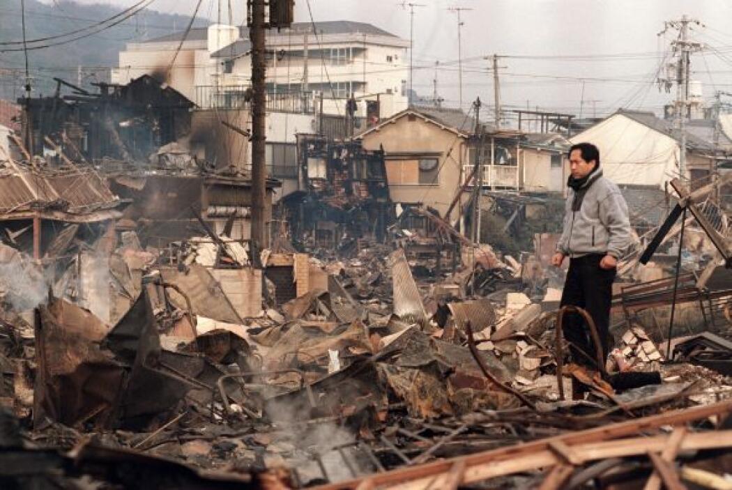 El 17 de enero de 1995 ocurrió el Gran Terremoto de Hanshin o de Kobe, d...