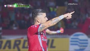 Jugada milimétrica termina en golazo de Juan Albín en el Veracruz vs Mon...