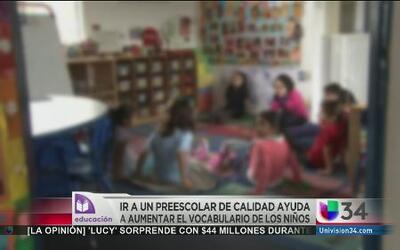 Impacto del preescolar en la vida de un niño