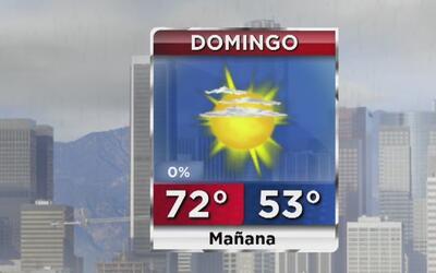 Los Ángeles disfrutará de un soleado y agradable domingo